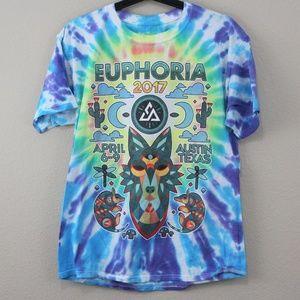 Euphoria 2017 Music Festival ie Dye T-Shirt M285